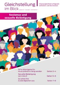 """Themenausgabe """"Sexismus und sexuelle Belästigung"""""""