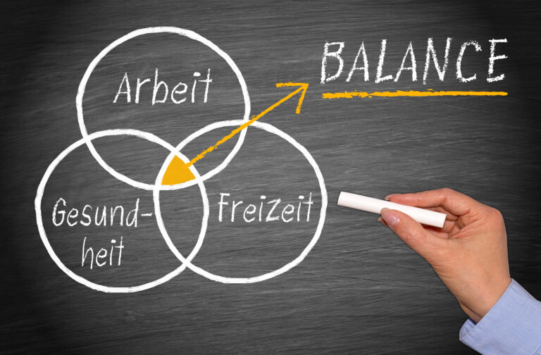 Gestalten Sie die Work-Life-Balance für Ihre Kolleg*innen mit!