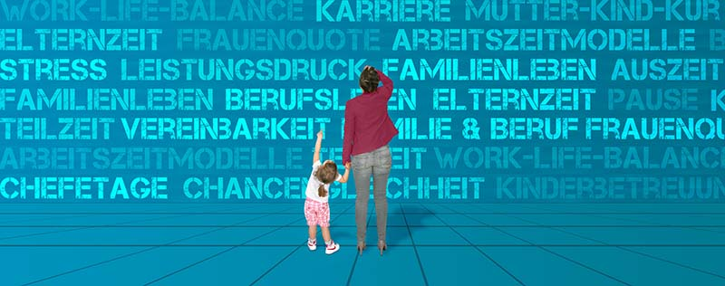 Ihr Einstieg: Regelungen zur Vereinbarkeit von Familie, Pflege und Erwerbstätigkeit